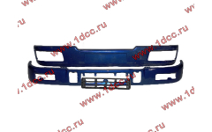 Бампер C синий верхний+нижний (в сборе) фото Ульяновск